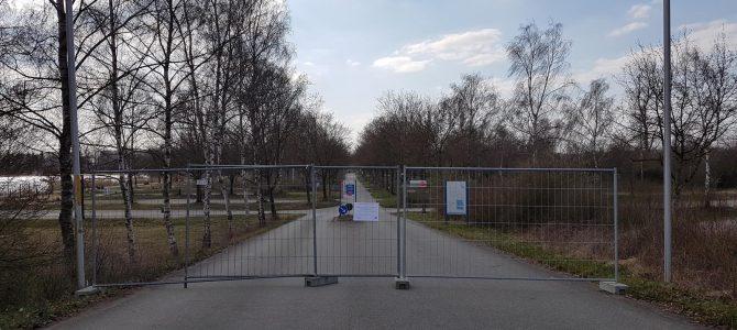 Erholungs- und Freizeitzentrum Schwarzachtalseen bis auf Weiteres gesperrt